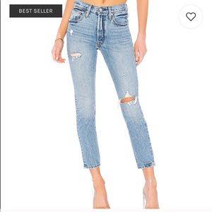 Levi's 501 High waisted jeans